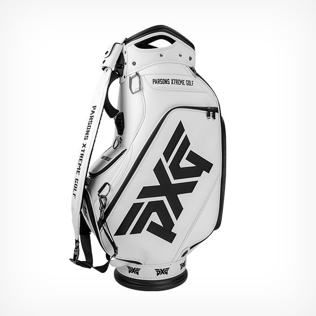 Pxg Glacier White Golf Staff Bag