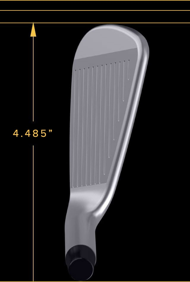 Blade length of T Iron is 3.225 inches