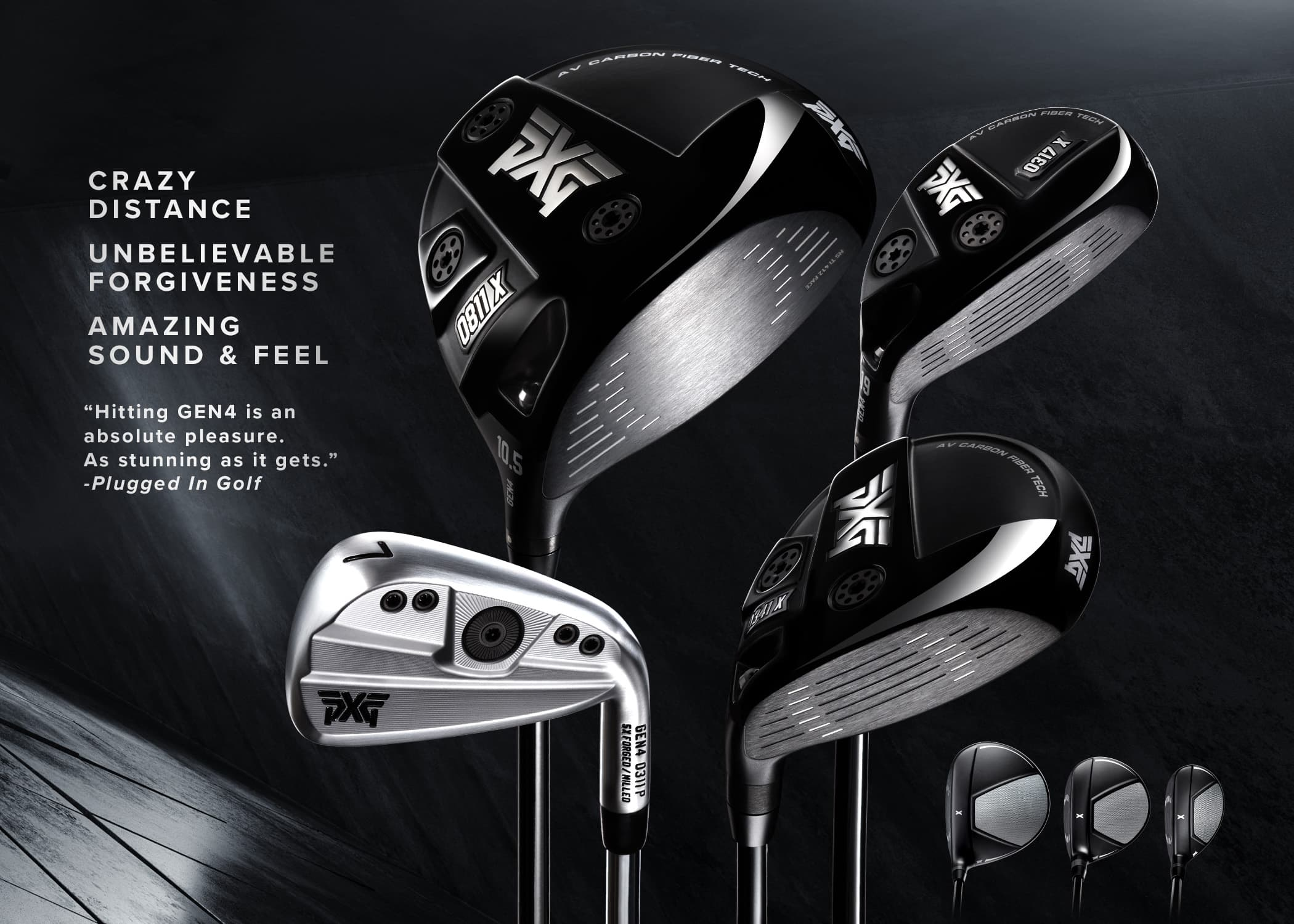 Quote: Hitting GEN4 is an absolute pleasure. As stunning as it gets. Plugged In Golf