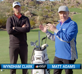 Wyndham Clark talks about choosing PXG | Golf Channel