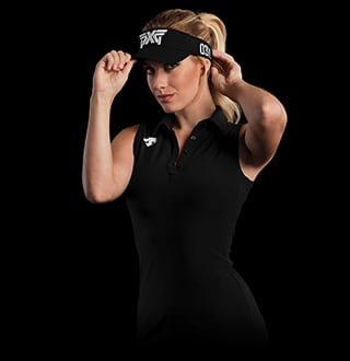 Paige Spiranac plays PXG