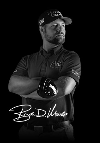 Ryan Moore plays PXG