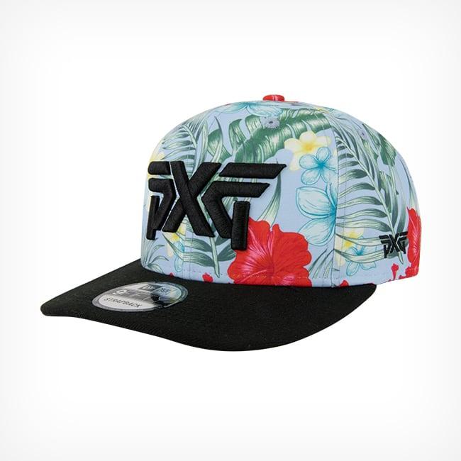 Aloha Adjustable Hawaiian Golf Hat - PXG a28615a62982