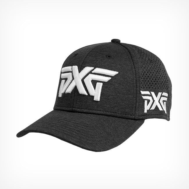 newest 55463 30389 sale pxg laser mesh shadow tech fitted cap black 8057a 62d77
