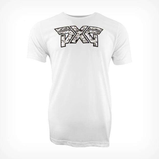 Buy Men's PXG Snow Camo Logo Tee