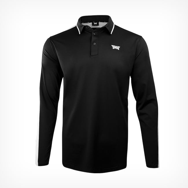 Buy Men's PXG Line Point Long Sleeve Polo