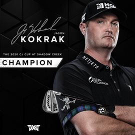 PXG Tour Professional Jason Kokrak Captures Top Spot at The CJ Cup
