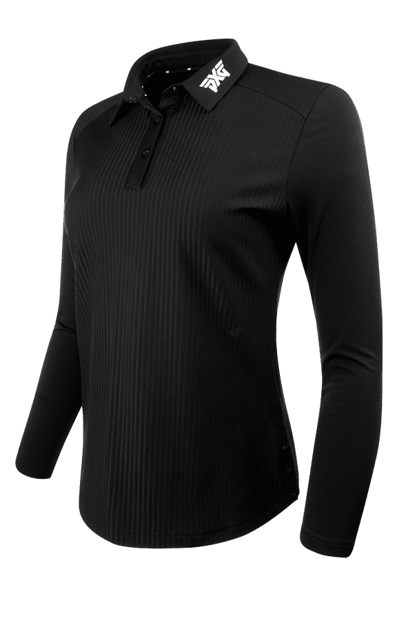 Buy Long Sleeve Snap Polo