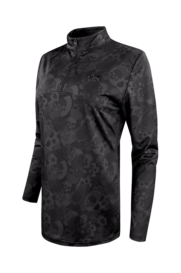 Buy Darkness Skull Camo Quarter Zip