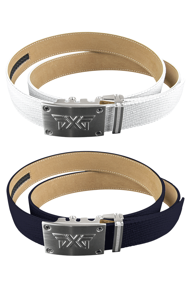 Buy Ratchet Belt - Navy/White