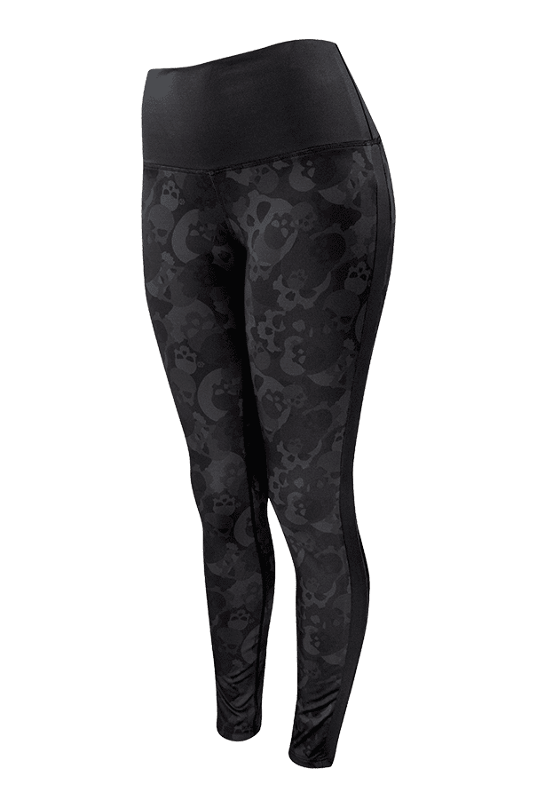 Buy Darkness High-Rise Skull Camo Leggings
