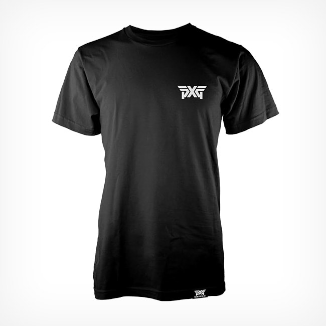 Buy Men's Black Logo T-Shirt