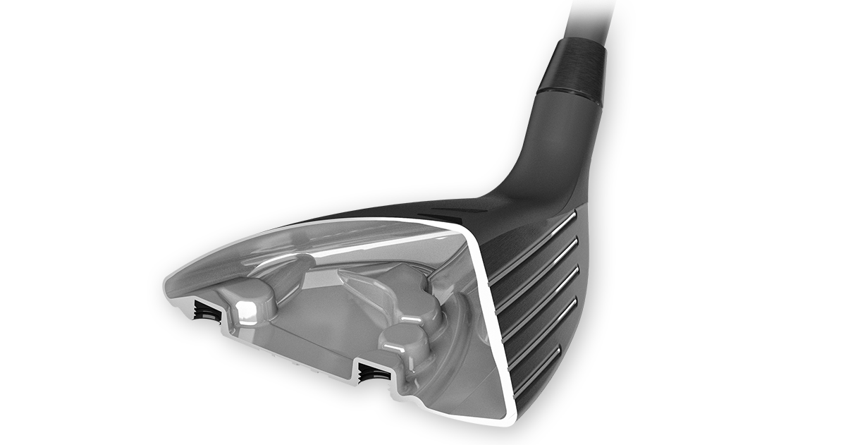Cast stainless steel fairway wood