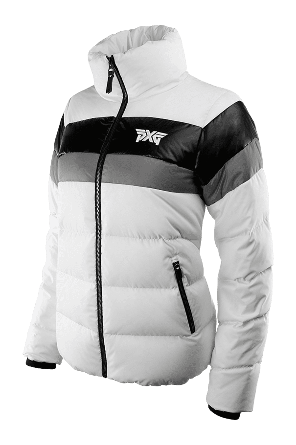 Buy Color Block Down Jacket