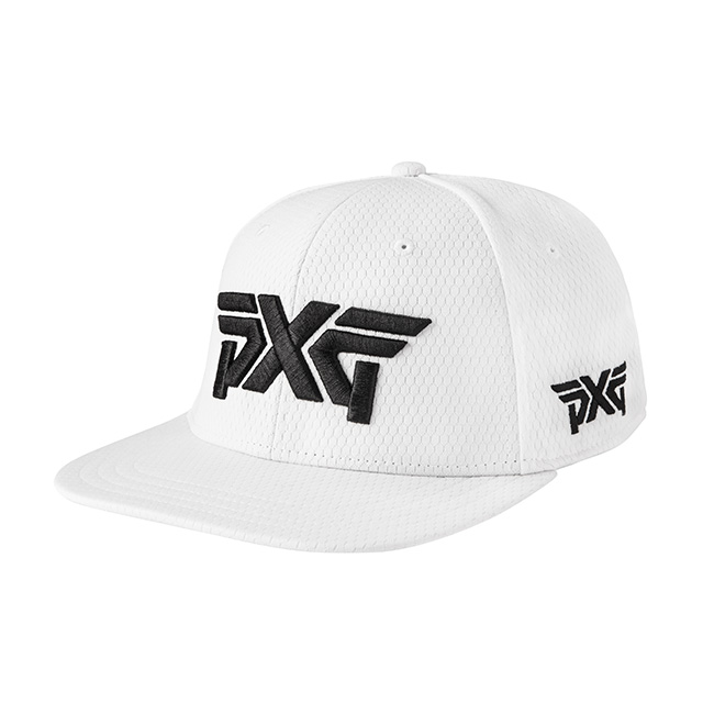 PXG Fitted Pro Hex Flat Bill Hat