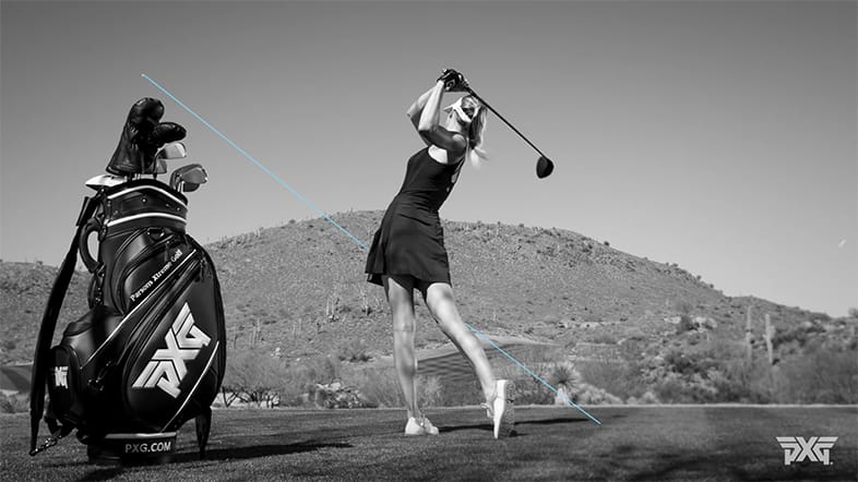 Anna Rawson Golf Tip How To Hit A Power Draw